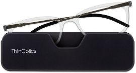 Thinoptics קריאה משקפי קונקט: צבע שקוף - מידה 2.5