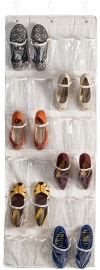 Honey Can Do מתלה ל 24 נעליים צבע קנבס