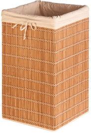 Honey Can Do סל כביסה קש מרובע