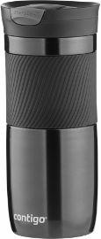 CONTIGO BRANDS כוס מתכת BYRON שחור גדול 20O