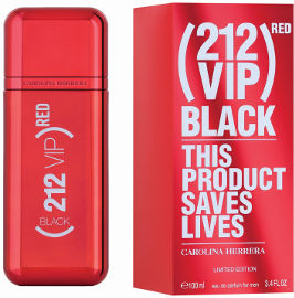 CAROLINA HERRERA 212 VIP RED BLACK א.ד.פ לגבר