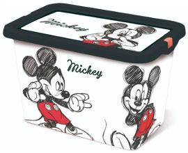 Disney קופסת אחסון 7 ליטר מיקי מאוס