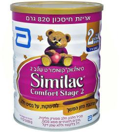 סימילאק קומפורט תרכובת מזון לתינוקות שלב 2