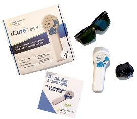 M.D.S. Pharm I- cure מכשיר לייזר רך המשלב 4 מקורות אנרגיה לריפוי דלקות ושיכוך כאבים