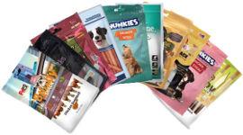 גג לחיות חטיפי פרמיום לכלב  במגוון טעמים