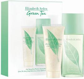 Elizabeth Arden green tea סט א.ד.ט + קרם גוף עם טיפות דבש לאשה