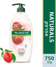 פלמוליב סבון נוזלי אפרסק משאבה