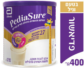 פדיאשור משקה להשלמה תזונתית היכול לסייע לילדים בגדילה מגיל 3-13 בטעם וניל