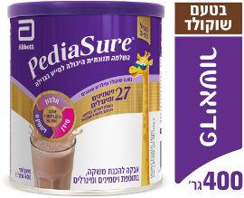 פדיאשור משקה להשלמה תזונתית היכול לסייע לילדים בגדילה מגיל 3-13 בטעם שוקולד