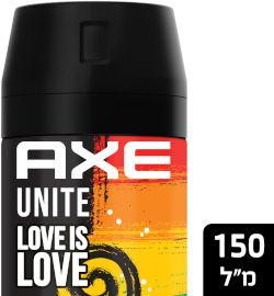 אקס דאודורנט ספריי love is love יוניסקס מהדורה מוגבלת