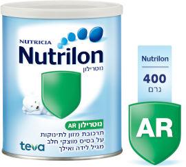 נוטרילון A.R תרכובת מזון לתינוקות על בסיס מוצקי חלב