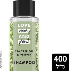 LOVE BEAUTY AND PLANET שמפו עץ התה לאב  ביוטי אנד פלאנט