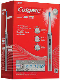 קולגייט מברשת שיניים חשמלית פרו קלינקל C 600