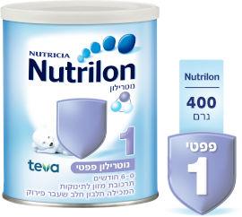 נוטרילון פפטי שלב 1 תרכובת מזון לתינוקות המכילה חלבון חלב שעבר פירוק 0-6 חודשים