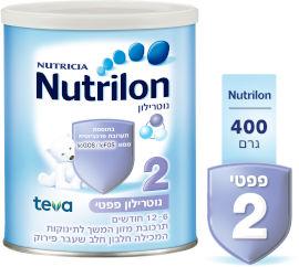 נוטרילון פפטי שלב 2 תרכובת מזון לתינוקות המכילה חלבון חלב שעבר פירוק 6-12 חודשים