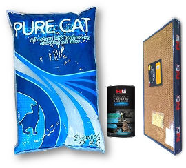 גג לחיות ערכת חול מפנקת לחתול