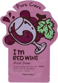 TONYMOLY I AM מסיכת בד - יין אדום