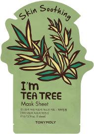 TONYMOLY I AM מסיכת בד - עץ התה