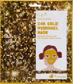 CETTUA מסיכת זהב 24 קאראט