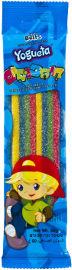 יוגטה חיספוסים- ממתק חמוץ בצורת שטיח בטעם מעורב