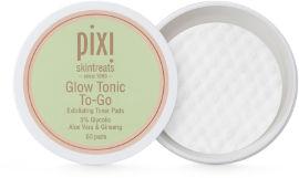 PIXI פדיות גלואו טוניק מועשרות בחומצה גליקולית ואלוורה