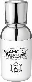 GLAMGLOW SUPERSERUM סרום עוצמתי המכיל תערובת של 6 חומצות ופחם פעיל