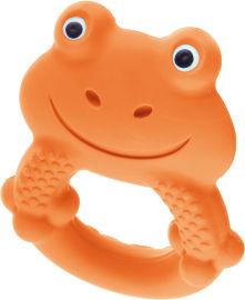 מאם נשכן צעצוע מקס הצפרדע כתום