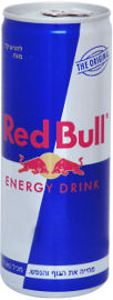 Red Bull משקה אנרגיה מוגז בתוספת קפאין וטאורין