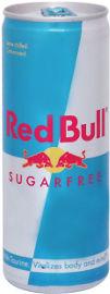 Red Bull משקה אנרגיה מוגז בתוספת קפאין וטאורין ללא סוכר