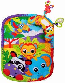 PlayGro משטח וכרית גן חיות