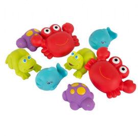 PlayGro 8 דמויות ים לאמבטיה