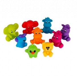 PlayGro 9 דמויות ג'ונגל לאמבטיה