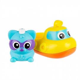 PlayGro צוללת ודביבון מוזיקליים לאמבטיה