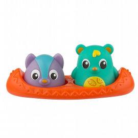 PlayGro סירה עם דובונים ומד חום