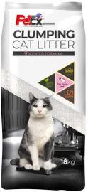 PETEX חול מתגבש לחתול בתוספת פחם פעיל