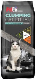 PETEX חול מתגבש לחתול נטול אבק נטול ריח עם פחם פעיל