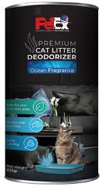 PETEX אבקה לבישום ומניעת ריחות לחול חתולים
