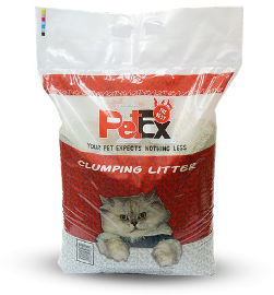 PETEX פטקס חול מתגבש לחתול