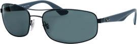 Ray-Ban *יבוא מקביל משקפי שמש, דגם 3527 צבע 006/71 מידה 61