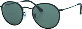 Ray-Ban *יבוא מקביל משקפי שמש, דגם 3475Q צבע 9040 מידה 50