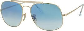 Ray-Ban *יבוא מקביל משקפי שמש, דגם 3561 צבע 001/3F-A מידה 57