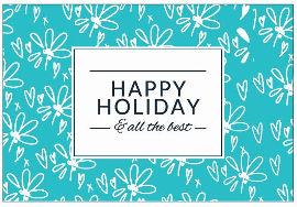 כרטיס ברכה עיצוב גרפי סוג חג שמח