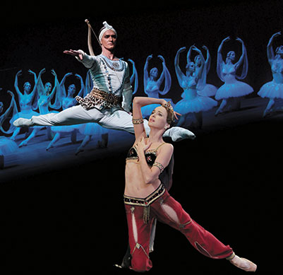 LA BAYADERE - בפעם הראשונה על הבמה בישראל!